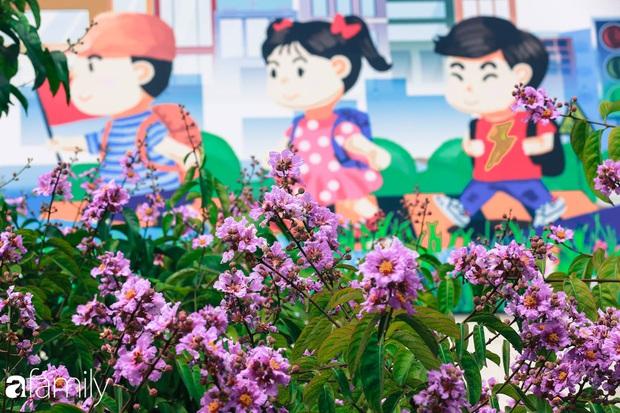 Trở lại cuộc sống bộn bề như trước, có mấy ai nhận ra Hà Nội đang trong một mùa hoa bằng lăng đẹp tuyệt vời - Ảnh 13.