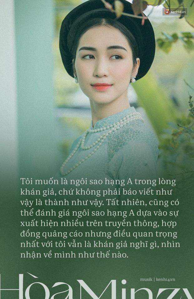 Hòa Minzy: Thị phi từng chặn đứng sự nghiệp ca hát của tôi - Ảnh 13.