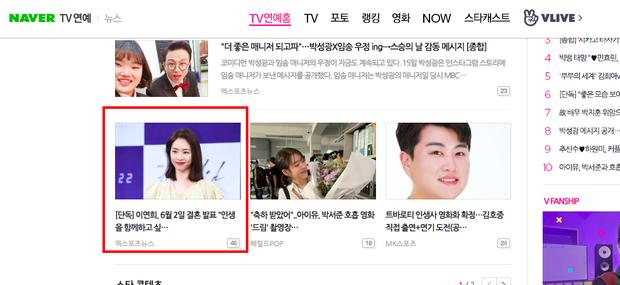 Hot nhất Naver hôm nay: Nữ diễn viên Hoa hậu Hàn Quốc Lee Yeon Hee nhà SM bất ngờ viết tâm thư tuyên bố kết hôn - Ảnh 4.