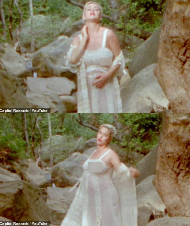 Dân tình choáng nặng vì cảnh Katy Perry khỏa thân 100% khoe bụng bầu ở tháng thứ 8 - Ảnh 2.