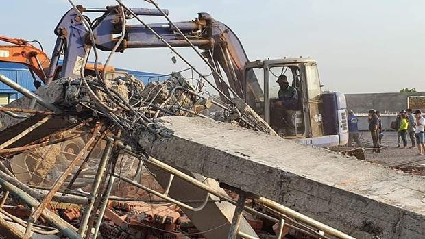 Tạm giữ Giám đốc, Phó giám đốc Công ty TNHH Hà Hải Nga vì vụ sập tường khiến 10 người tử vong ở tỉnh Đồng Nai - Ảnh 4.