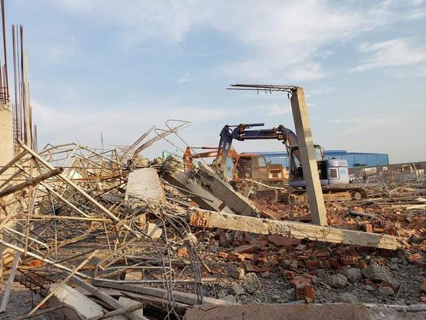Tạm giữ Giám đốc, Phó giám đốc Công ty TNHH Hà Hải Nga vì vụ sập tường khiến 10 người tử vong ở tỉnh Đồng Nai - Ảnh 3.