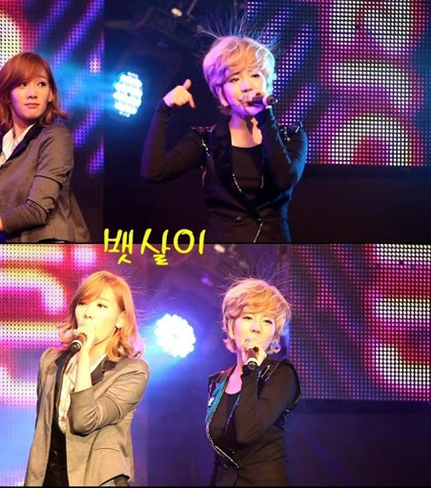 """SNSD đang diễn thì cười rũ rượi khi Sunny gặp """"biến"""" với tóc, ai ngờ 2 thành viên bị """"quật"""" ngay tức khắc vì tóc tai dựng ngược do tĩnh điện - Ảnh 5."""