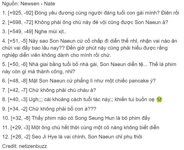 Đóng chung với người đẹp Apink, Song Seung Hun bị netizen Hàn khẩu nghiệp là trâu già gặm cỏ non - Ảnh 3.