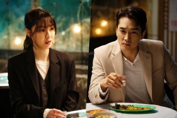 Đóng chung với người đẹp Apink, Song Seung Hun bị netizen Hàn khẩu nghiệp là trâu già gặm cỏ non - Ảnh 4.