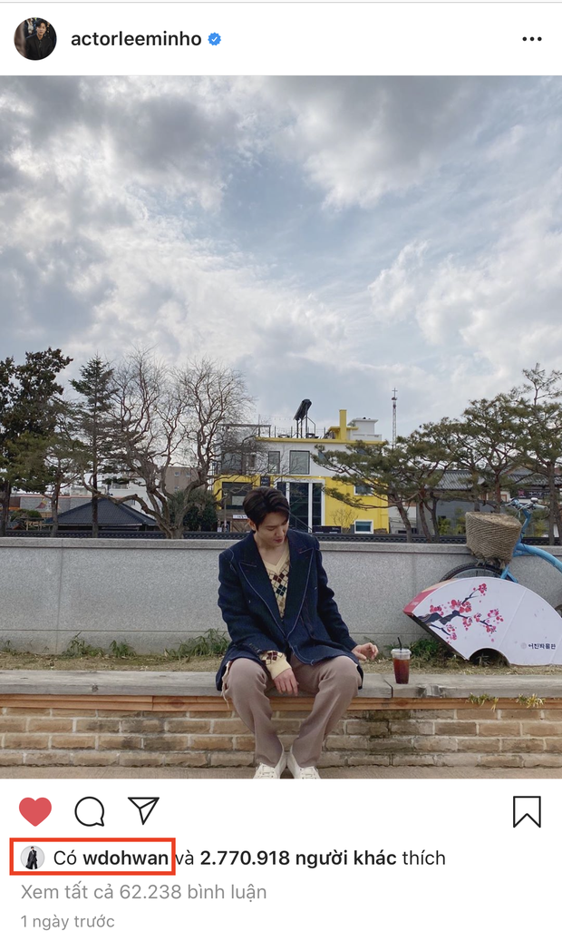 Dậy sóng Kim Go Eun tung hint đáng nghi với Lee Min Ho, trai đẹp cận vệ Woo Do Hwan bất ngờ vào hưởng ứng? - Ảnh 3.