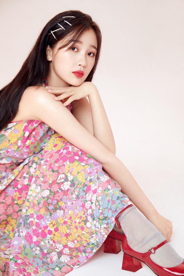 10.000 netizen bình chọn 9 thí sinh đẹp nhất Thanh Xuân Có Bạn: Ngu Thư Hân top cuối, Á hậu Hoa kiều vẫn thua 1 mỹ nhân - Ảnh 4.