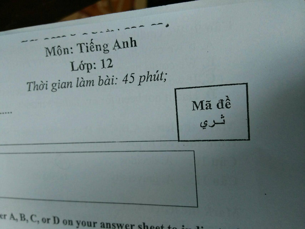 Đặt mã đề thi dài cả tận cây số, học sinh khóc thét vì độ lầy lội của thầy cô: Thế này thì quay cop kiểu gì? - Ảnh 3.