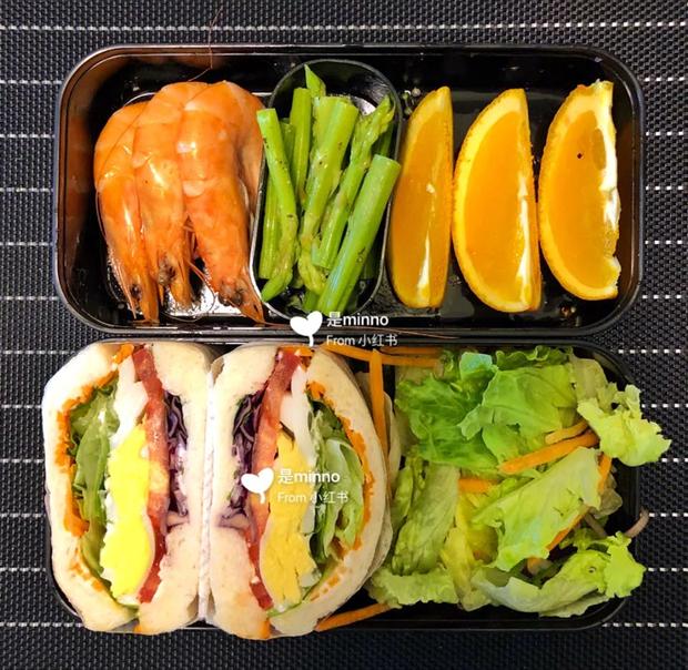Gái xinh xứ Trung giảm 20kg trong chưa đầy 3 tháng chia sẻ thực đơn ăn trưa 7 ngày cho các nàng lười ăn kiêng - Ảnh 6.