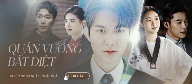Quân Vương Bất Diệt tập 10: Ngọt ngào chưa được bao lâu, Lee Min Ho và Kim Go Eun đã phải chia tay nhau trong nước mắt - Ảnh 11.