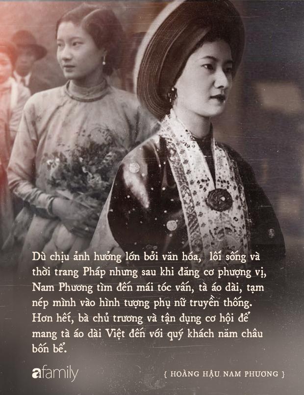 Nam Phương Hoàng Hậu: Người đàn bà phải lòng Dior nhưng phân nửa đời vẫn mực thước với Áo dài - Ảnh 13.