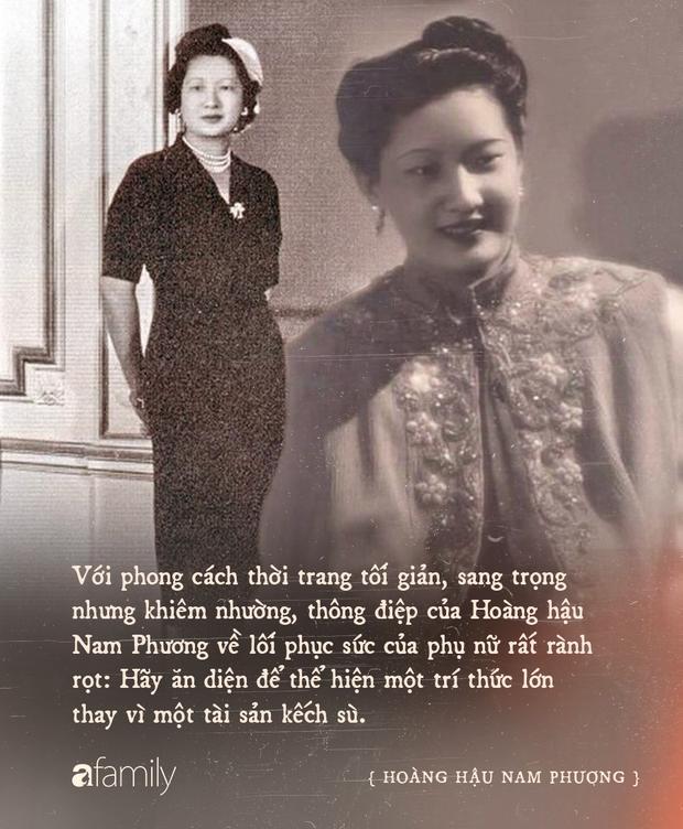 Nam Phương Hoàng Hậu: Người đàn bà phải lòng Dior nhưng phân nửa đời vẫn mực thước với Áo dài - Ảnh 18.