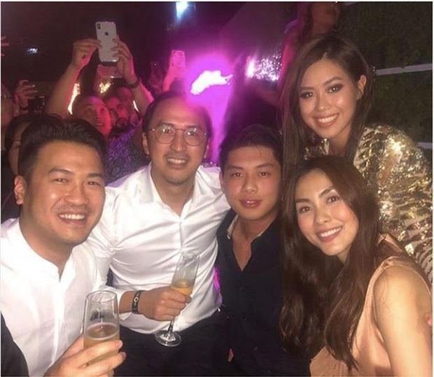 Hà Tăng - Tiên Nguyễn khoe ảnh diện bikini lấp ló vòng 1: Cặp chị em dâu hơn kém 10 tuổi gợi cảm và thân thiết nức tiếng Vbiz - Ảnh 5.