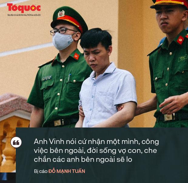 Những phát ngôn bất ngờ của các bị cáo trong vụ xét xử gian lận điểm thi ở Hoà Bình - Ảnh 4.