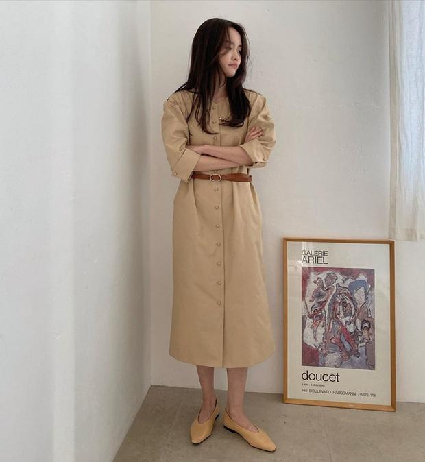 Mix đồ còn non tay, chị em cứ áp dụng 12 outfit màu be sau thì thế nào cũng được khen mặc đẹp và sang - Ảnh 8.