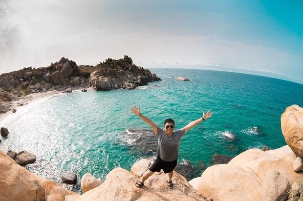 Vừa phát hiện một hòn đảo cực hoang sơ ở Việt Nam: Chưa cần chỉnh màu đã sở hữu làn nước xanh trong vắt, trông chẳng khác nào Maldives!  - Ảnh 8.