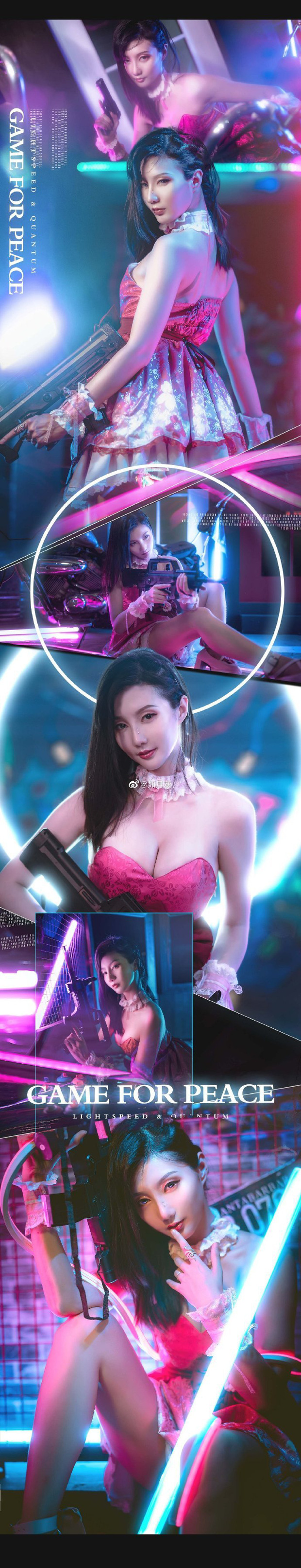 PUBG Mobile: Chiêm ngưỡng bộ ảnh cosplay cô nàng Chuyên gia xe cộ Sara đẹp lung linh với váy hồng điệu đà - Ảnh 7.