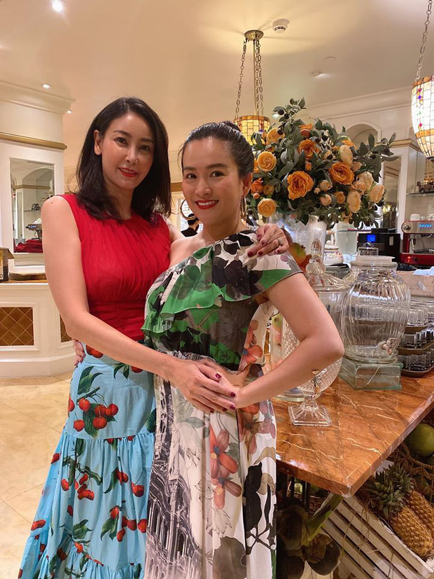 Hội bạn thân Trương Ngọc Ánh, bà xã Bình Minh tụ họp trong sinh nhật Hà Kiều Anh: Quyến rũ, đọ sắc khi chung khung hình - Ảnh 4.