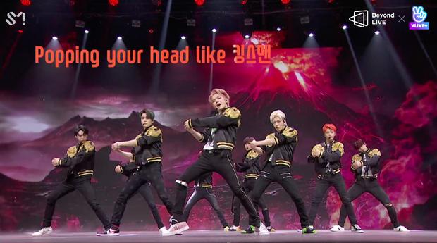 NCT 127 đu giàn giáo, múa cột, biểu diễn luôn ca khúc chưa phát hành tại concert online; áp dụng hình thức fancam cá nhân trực tiếp quá xịn xò! - Ảnh 8.