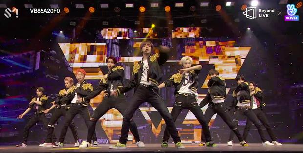NCT 127 đu giàn giáo, múa cột, biểu diễn luôn ca khúc chưa phát hành tại concert online; áp dụng hình thức fancam cá nhân trực tiếp quá xịn xò! - Ảnh 12.