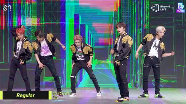 NCT 127 đu giàn giáo, múa cột, biểu diễn luôn ca khúc chưa phát hành tại concert online; áp dụng hình thức fancam cá nhân trực tiếp quá xịn xò! - Ảnh 14.