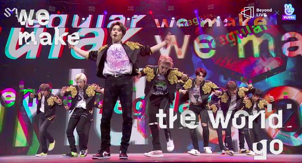 NCT 127 đu giàn giáo, múa cột, biểu diễn luôn ca khúc chưa phát hành tại concert online; áp dụng hình thức fancam cá nhân trực tiếp quá xịn xò! - Ảnh 18.