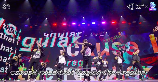 NCT 127 đu giàn giáo, múa cột, biểu diễn luôn ca khúc chưa phát hành tại concert online; áp dụng hình thức fancam cá nhân trực tiếp quá xịn xò! - Ảnh 15.