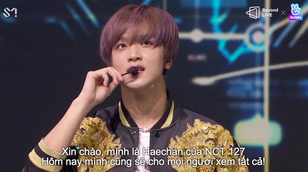 NCT 127 đu giàn giáo, múa cột, biểu diễn luôn ca khúc chưa phát hành tại concert online; áp dụng hình thức fancam cá nhân trực tiếp quá xịn xò! - Ảnh 22.