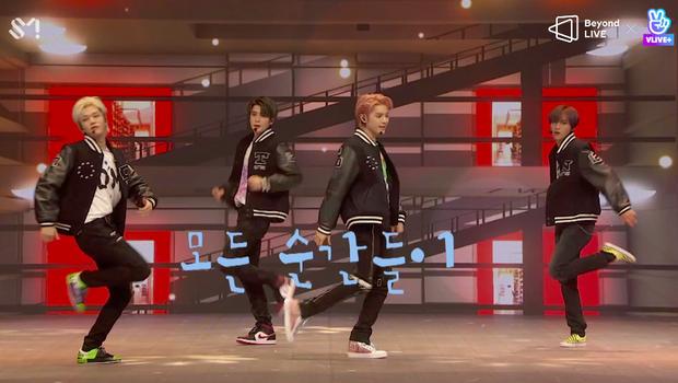 NCT 127 đu giàn giáo, múa cột, biểu diễn luôn ca khúc chưa phát hành tại concert online; áp dụng hình thức fancam cá nhân trực tiếp quá xịn xò! - Ảnh 32.