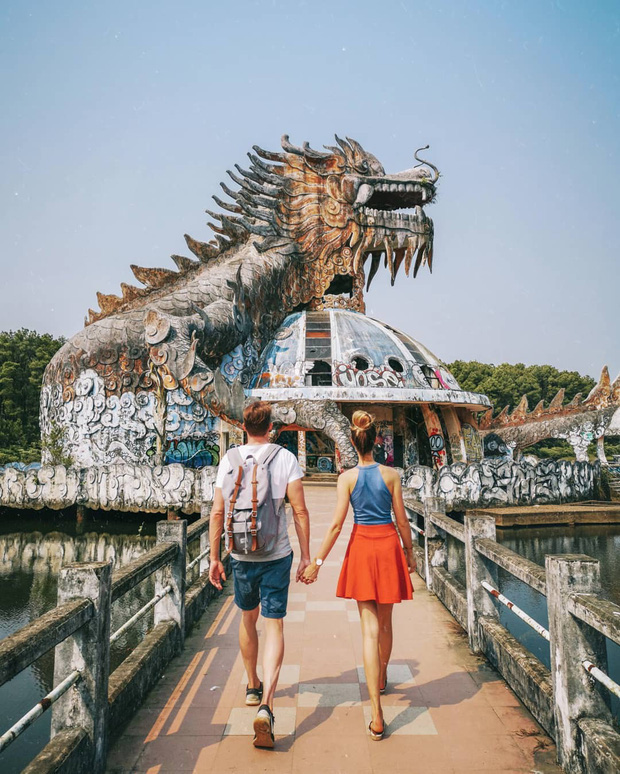 Từng lên báo Mỹ vì quá kinh dị nhưng công viên bỏ hoang ở Huế sắp được hồi sinh trở lại? - Ảnh 1.