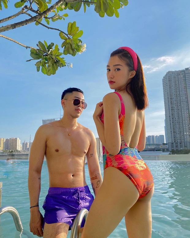 Mới đầu hè, sao Việt đã thi nhau thả dáng với đồ bơi: Hot đỉnh cao là Hà Tăng, gây tiếc nuối chút nhẹ là Hiền Hồ - Ảnh 10.