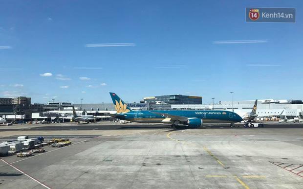 Chùm ảnh: Hai chuyến bay Vietnam Airlines đưa công dân Việt tại Hoa Kỳ và châu Âu hồi hương - Ảnh 13.