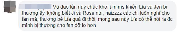 Hết Jennie lại tới Lisa gặp chấn thương, fan lo sốt vó rằng vũ đạo comeback của BLACKPINK lần này quá mạnh gây nguy hiểm - Ảnh 8.