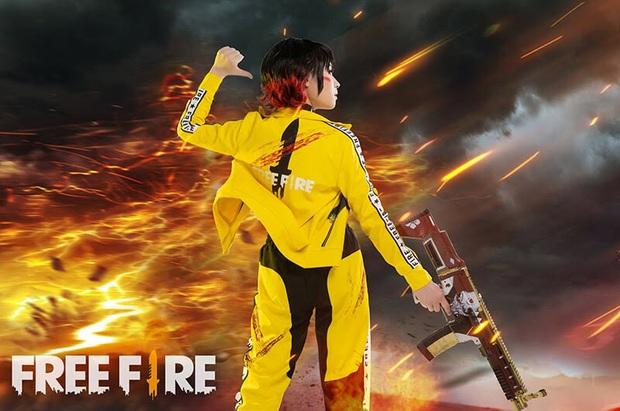 Không hổ danh con cưng Garena, Free Fire luôn được ưu ái với hàng loạt bộ ảnh cosplay quảng bá chất như nước cất - Ảnh 2.
