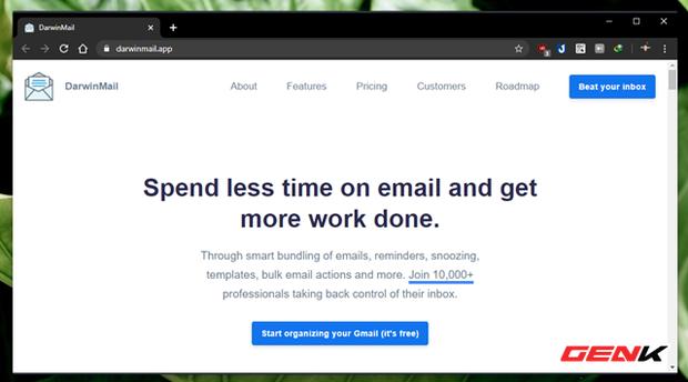 """Khoác """"áo"""" mới cho Gmail của bạn với mẹo làm mới giao diện cực đẹp đến từ Darwin Mail - Ảnh 2."""