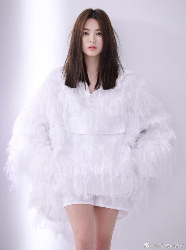 Sau ồn ào xung quanh cuộc ly hôn với Song Joong Ki, Song Hye Kyo đứng sau em gái quốc dân IU và tình cũ Lee Min Ho về độ phủ sóng trên mạng xã hội - Ảnh 3.