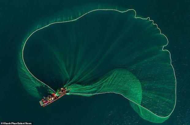 Cảnh người dân tung lưới đánh cá ở Phú Yên đầy mê hoặc được báo nước ngoài đăng tải và ca ngợi hết lời - Ảnh 1.