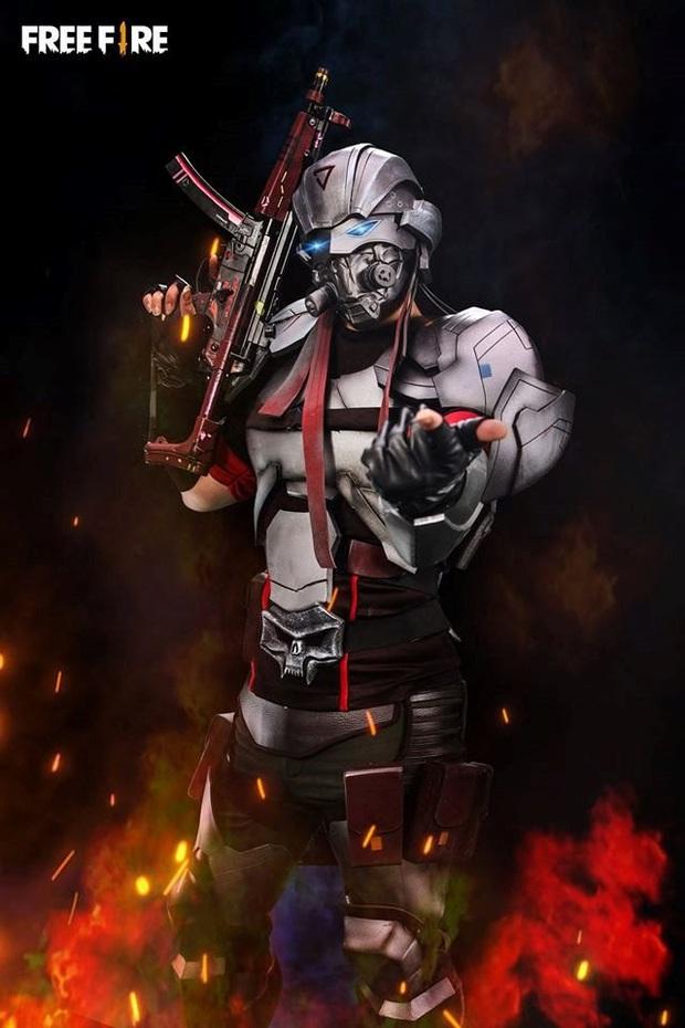 Không hổ danh con cưng Garena, Free Fire luôn được ưu ái với hàng loạt bộ ảnh cosplay quảng bá chất như nước cất - Ảnh 9.