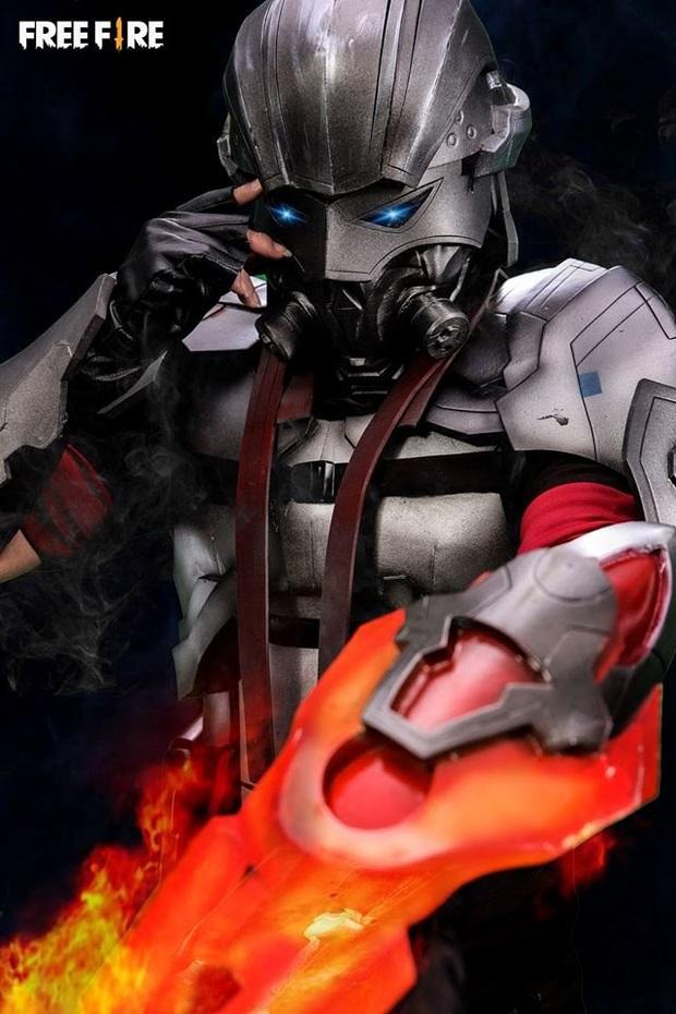Không hổ danh con cưng Garena, Free Fire luôn được ưu ái với hàng loạt bộ ảnh cosplay quảng bá chất như nước cất - Ảnh 8.