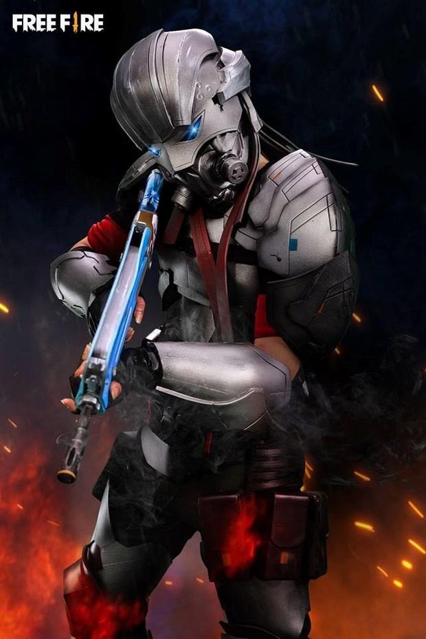Không hổ danh con cưng Garena, Free Fire luôn được ưu ái với hàng loạt bộ ảnh cosplay quảng bá chất như nước cất - Ảnh 7.