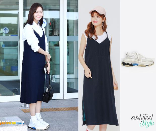 Loạt váy áo hack tuổi cực khéo của Yoona từ vài trăm nghìn: Nàng 30 có thể tìm được nhiều chiêu mix đồ hay ho mà chẳng lo về giá - Ảnh 10.