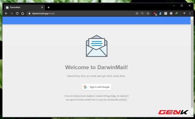 """Khoác """"áo"""" mới cho Gmail của bạn với mẹo làm mới giao diện cực đẹp đến từ Darwin Mail - Ảnh 3."""
