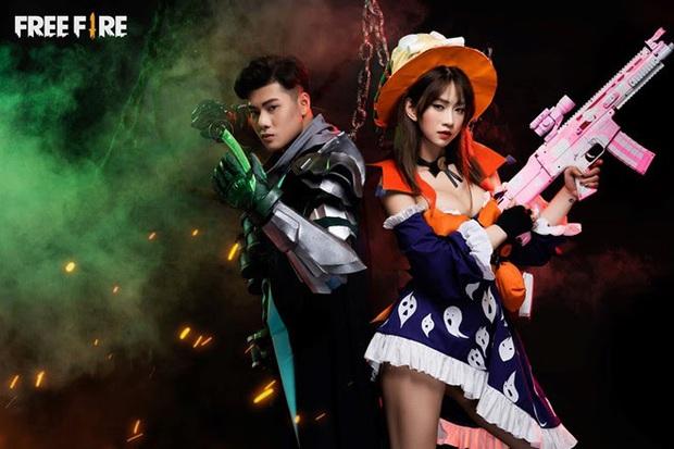 Không hổ danh con cưng Garena, Free Fire luôn được ưu ái với hàng loạt bộ ảnh cosplay quảng bá chất như nước cất - Ảnh 11.