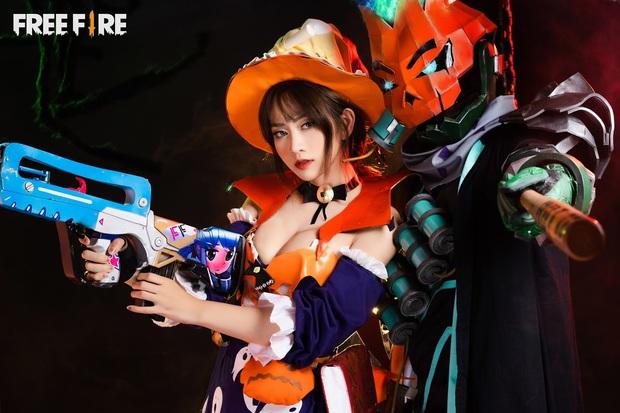 Không hổ danh con cưng Garena, Free Fire luôn được ưu ái với hàng loạt bộ ảnh cosplay quảng bá chất như nước cất - Ảnh 10.