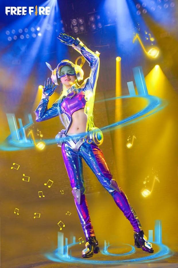 Không hổ danh con cưng Garena, Free Fire luôn được ưu ái với hàng loạt bộ ảnh cosplay quảng bá chất như nước cất - Ảnh 13.