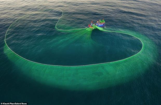 Cảnh người dân tung lưới đánh cá ở Phú Yên đầy mê hoặc được báo nước ngoài đăng tải và ca ngợi hết lời - Ảnh 4.