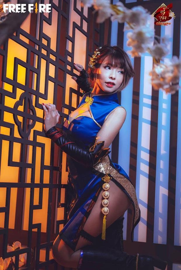 Không hổ danh con cưng Garena, Free Fire luôn được ưu ái với hàng loạt bộ ảnh cosplay quảng bá chất như nước cất - Ảnh 24.