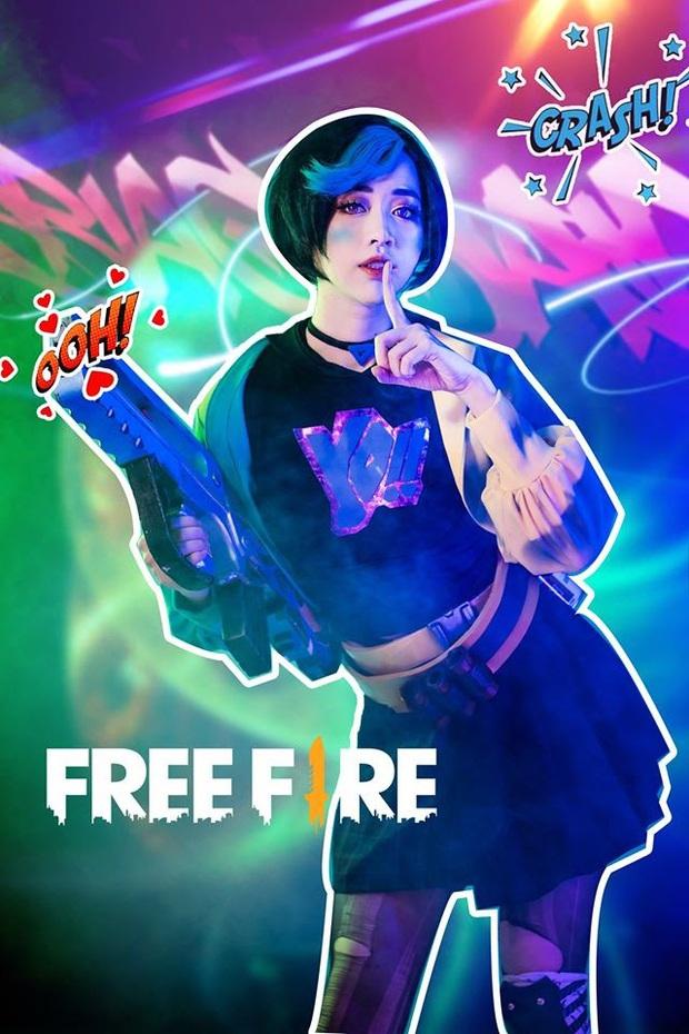 Không hổ danh con cưng Garena, Free Fire luôn được ưu ái với hàng loạt bộ ảnh cosplay quảng bá chất như nước cất - Ảnh 4.