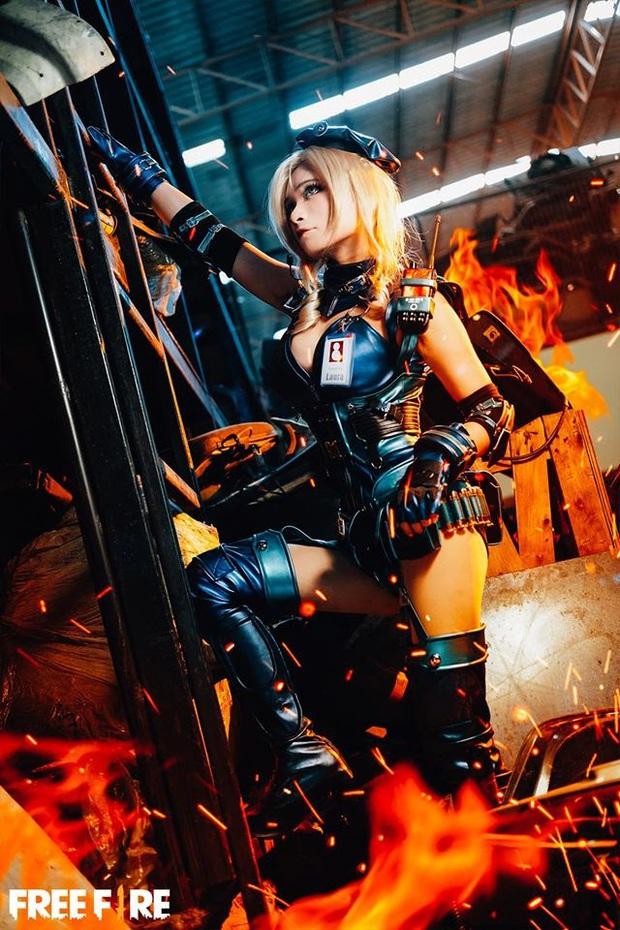 Không hổ danh con cưng Garena, Free Fire luôn được ưu ái với hàng loạt bộ ảnh cosplay quảng bá chất như nước cất - Ảnh 27.