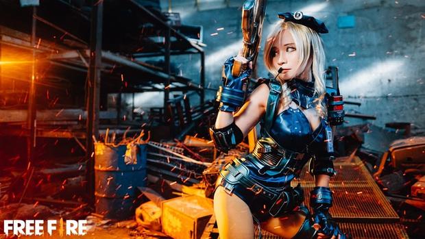 Không hổ danh con cưng Garena, Free Fire luôn được ưu ái với hàng loạt bộ ảnh cosplay quảng bá chất như nước cất - Ảnh 25.